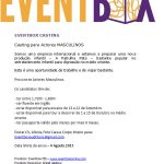 Casting Actores Masculinos