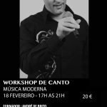 Workshop de Canto – Música Moderna